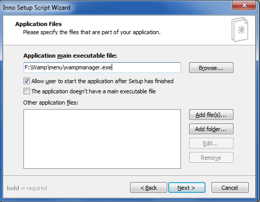 Didacticiel d'utilisation d'Inno Setup pour installer