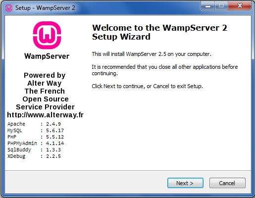 WAMPSERVER 2.1 GRATUITEMENT TÉLÉCHARGER